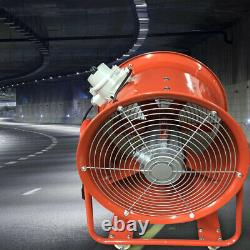 ATEX Rated 18 Ventilator Explosion Proof Axial Fan 1100W 9900m3/h Extractor Fan