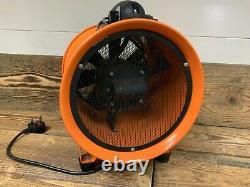 Airflow Adventure Portable Industrial Ventilator Blower Workshop Extractor Fan