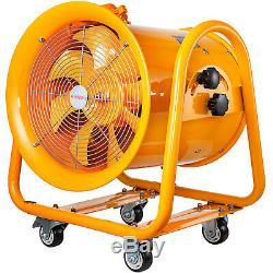 Atex Portable Ventilator Axial Fan Ducting Blower Metal Extractor 16 inch