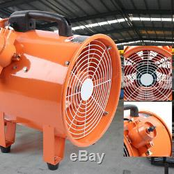 Atex Portable Ventilator Axial Fan Ducting Blower Metal Extractor Industrial 12