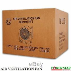Atex Portable Ventilator Axial Fan Ducting Blower Metal Extractor Industrial