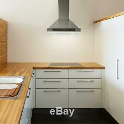 B-Stock Cooker Hoods Extractor Fan Kitchen Chimney 620m³/h 60cm Ventilation