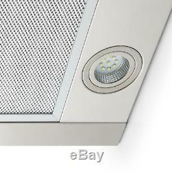 B-Stock Cooker Hoods Extractor Fan Kitchen Chimney 620m³/h 60cm Ventilation