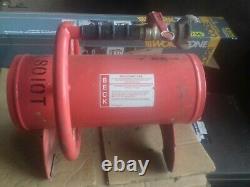 Beck 12 Pneumatic Clustajet BCJ1250 Fume Extractor Secomak Air Ventilator Fan