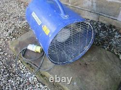 Birchwood 110v Fume Extractor Fan 12 300mm Air Ventilator Blower