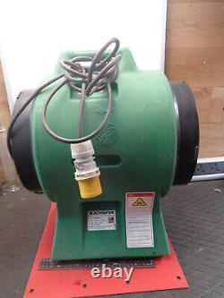 Confined space Ventillation fan extractor 12 Americ 110V VAF3000A-G H13Z66F