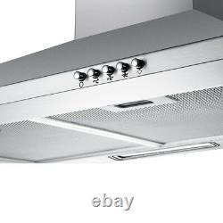 Cooker Hood Stainless Steel Recirculating Duct Kitchen Ventilation Extractor Fan