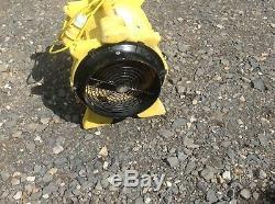 Dri Eaz Vortex F174 Fan Ventilator Fume Extractor Fan Spray Booth 110V Drieaz