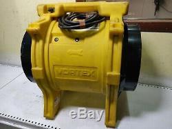 Drieaz Vortex 110v Fume Extractor fan 300mm air 12ventilator spray booth blower