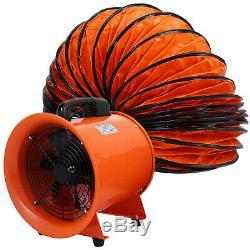 Dust Fume Extractor/Ventilation Fan 12 (300MM) + 5M Flexible Ducting