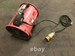 Elite 200mm 110v Fume Extractor fan air ventilator spray booth blower