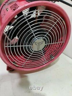 Elite 250mm 110v Fume Extractor fan air ventilator spray booth blower