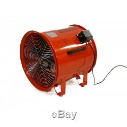 Elite 450mm Fume Extractor 18in Ventilation Fan (Various Options)