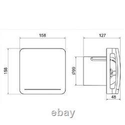 Envirovent ECO DEMV T Extractor Ventilation Fan IPX4 Adjustable Timer Bathroom