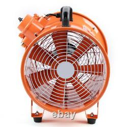 Explosion Proof Dust Fume Ultility Extractor / Ventilation Fan 220v 12 300mm Ce