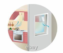 Extractor fan Kitchen fan Window fan Bathroom ventilator 125 M1OK2 Turbo