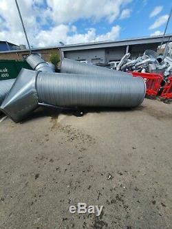Galvanized Steel Spiral Ducting 3.0m Hydroponics, Ventilation, Extractor fan