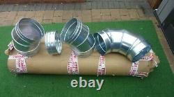 Galvanized Steel Spiral Ducting, Hydroponics, Ventilation, Extractor fan job lot