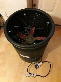 Gibbons Portable Ventilator Axial Blower Workshop Extractor Industrial Fan 16