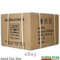 Heavy Duty Industrial Metal Axial Extractor Ventilation Shutter Fan 24 Inch