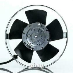 High Temperature Inline Extractor Fan 200mm Chimney Flue Liner Ventilator