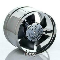 High Temperature Inline Extractor Fan Chimney Flue Liner Ventilator 125mm