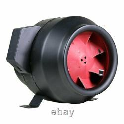 Horticultural Extractor 6'' Grow1 F5 Inline Tent Fan 595 Cfm for Ventilation