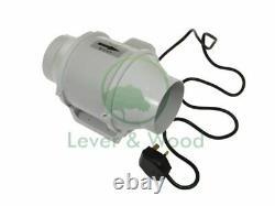Hydroponics Extractor Duct Fan Grow Tent Inline 2 Speed Ventilation Fan