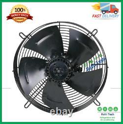 Industrial Axial Extractor Ventilation Exhaust Fan 450mm Axial Fan Motor Suck