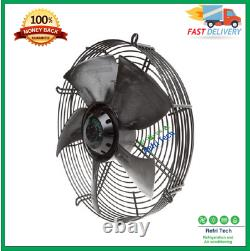 Industrial Axial Extractor Ventilation Exhaust Fan 550mm Axial Fan Motor Suck