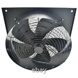 Industrial Axial Plate Fan Work Garage Ventilation Extractor Exhaust Blower Fans