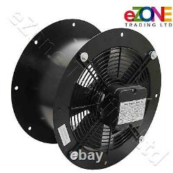 Industrial Cased Extractor Fan 14 Duct Commercial Ventilation +Speed Controller