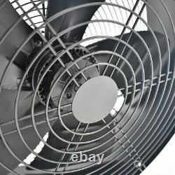 Industrial Commercial Extractor Plate Fan Ventilation Axial Exhaust Air Blower