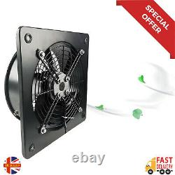 Industrial Commercial Extractor Ventilation Axial Exhaust Blower Flow Plate Fan