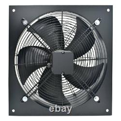 Industrial Commercial Ventilation Extractor Metal Axial Exhaust Air Blower Fan