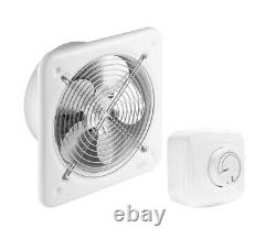 Industrial Extractor Fan 200mm with Speed Controller / Commercial Ventilator