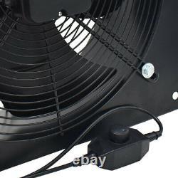 Industrial Extractor Fan 8-24'' Commercial Ventilation Extractor Speed Control