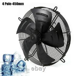 Industrial Extractor Fan Extractor Metal Axial Exhaust Air Fan 450mm 4 Pole 250W
