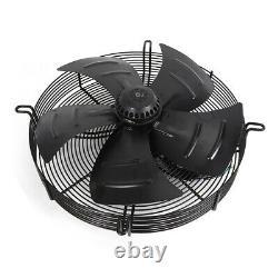 Industrial Extractor Plate Fan Ventilation Metal Axial Exhaust Fans 18 inch 250W