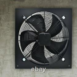Industrial Extractor Plate Fan Ventilation Metal Exhaust Blower with Speed Control