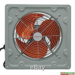 Industrial Fan Commercial Metal Axial Extractor Heavy Duty Ventilation