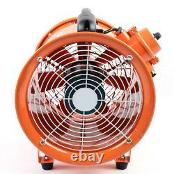Industrial Ventilation Extractor ATEX Axial Exhaust Commercial Air Blower Fan DE