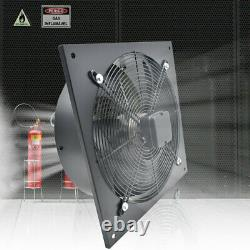 Industrial Ventilation Extractor Exhaust Commercial Air Blower Plate Fan Garage
