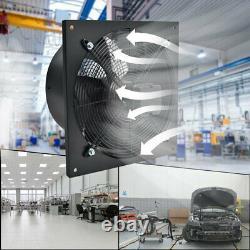 Industrial Ventilation Extractor Metal Axial Exhaust Air Fan 8/10/12/16/20/24