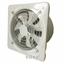 Industrial Ventilation Extractor Metal Axial Exhaust Commercial Air Blower Fan G