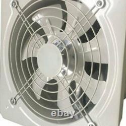 Industrial Ventilation Extractor Metal Axial Exhaust Commercial Air Blower Fan U
