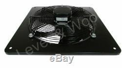 Industrial Ventilation Extractor Metal Axial Exhaust Commercial Air Sucker Fan