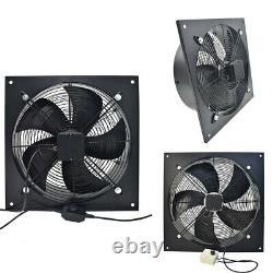 Industrial Ventilation Extractor Metal Exhaust Air Blower Fan Garage Warehouse