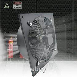Industrial Ventilation Extractor Metal Exhaust Fan Air Blower Speed Control UK
