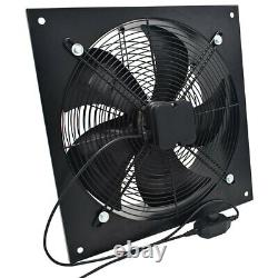 Industrial Ventilation Extractor Metal Plate Axial Exhaust Fan 8-24'' Air Blower